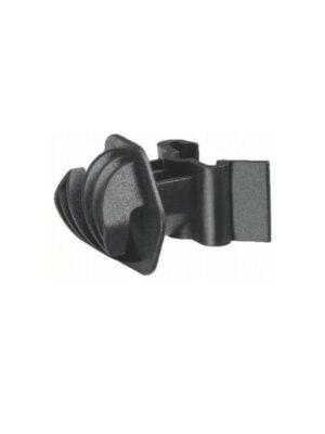 Seilisolator T-Pfosten schwarz 25x