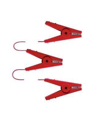 Kerbl Zaunverbindungskabel 3 Kroko-Klemmen