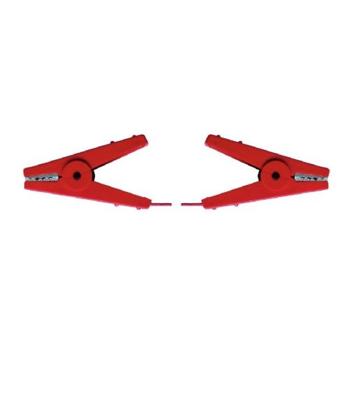 Kerbl Zaunverbindungskabel 2 Kroko-Klemmen