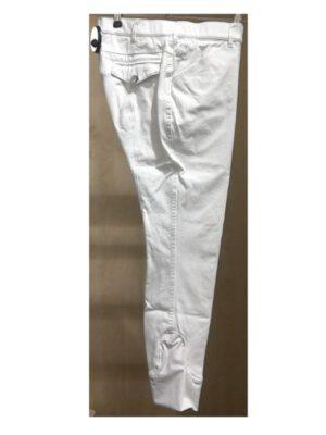 HKM Reithose Kniebesatz weiß Kurzgröße